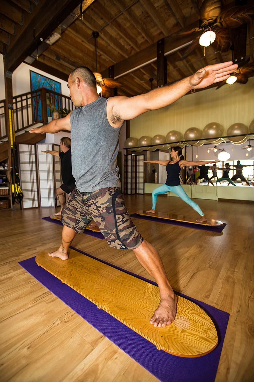Balance Board Yoga