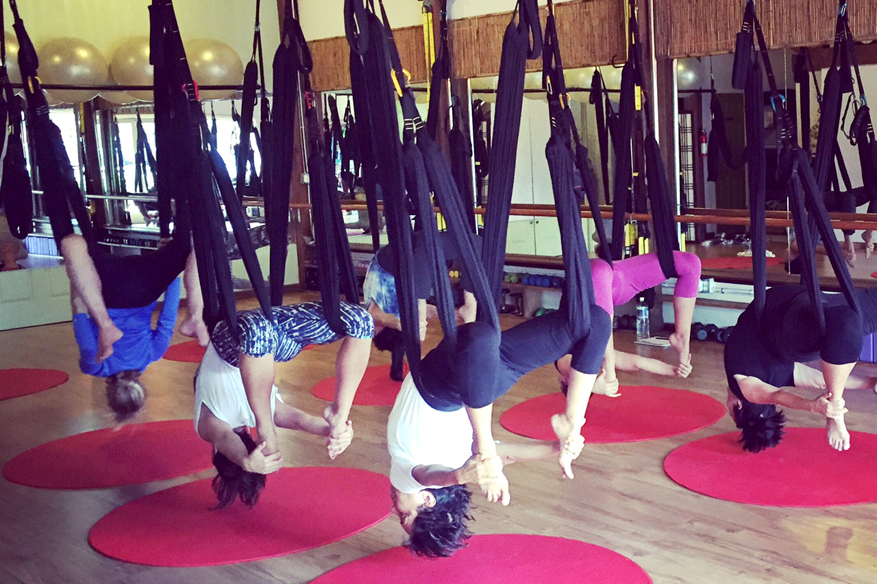 The Spine: Benefits of Hanging Upside Down - Body In Balance