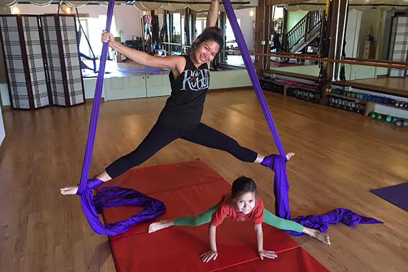 Aerial Silks (Adults & Kids)