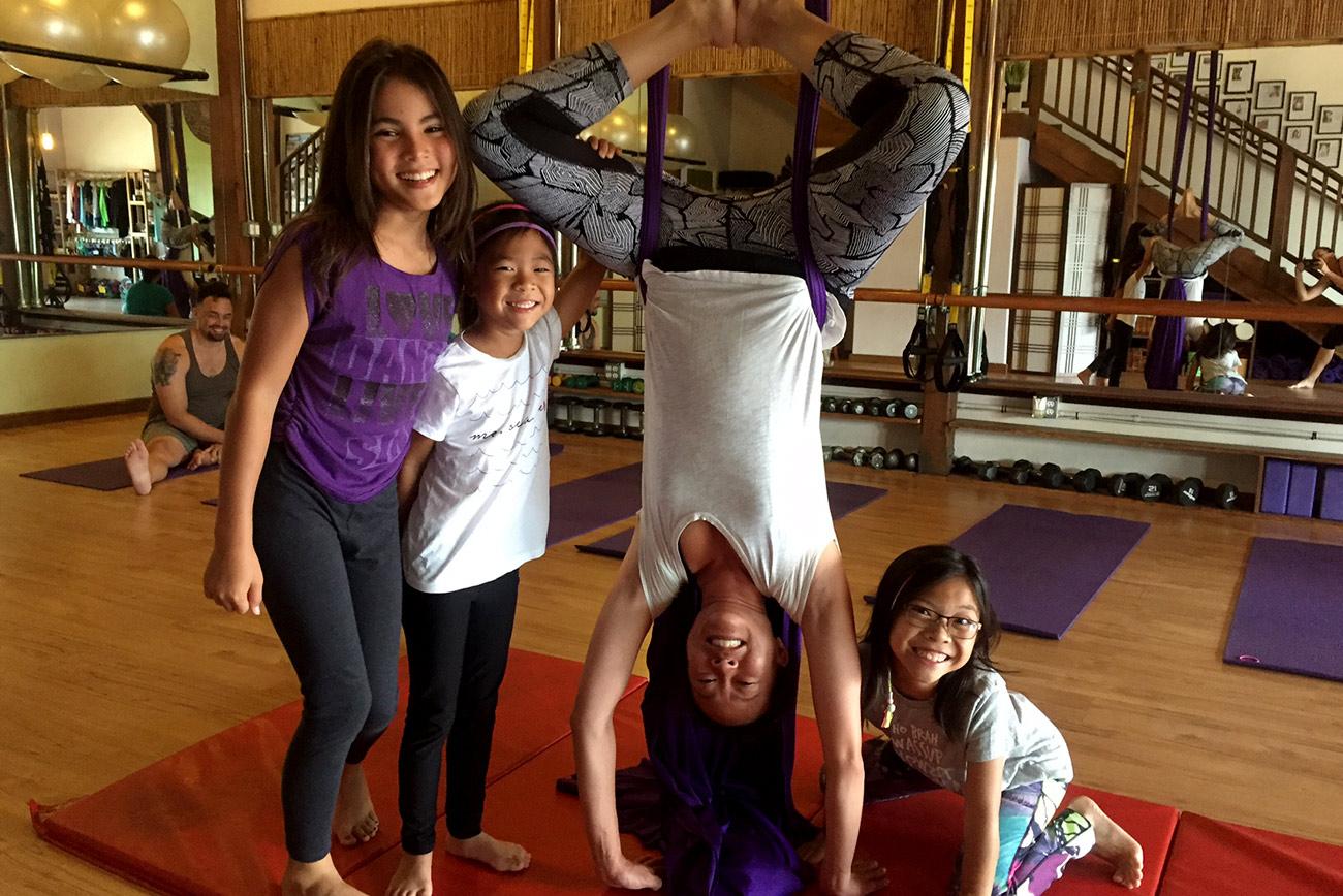 Aerial Silks (Adults & Kids)