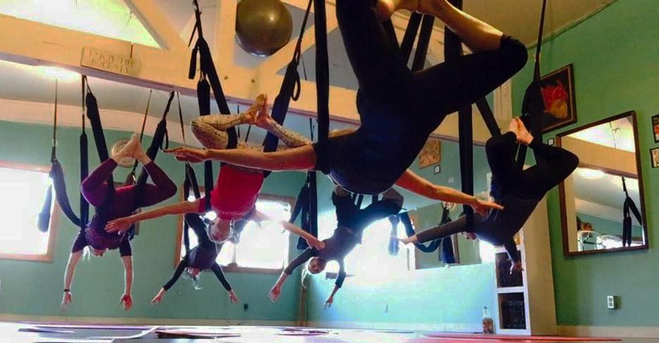 yoga play aerial