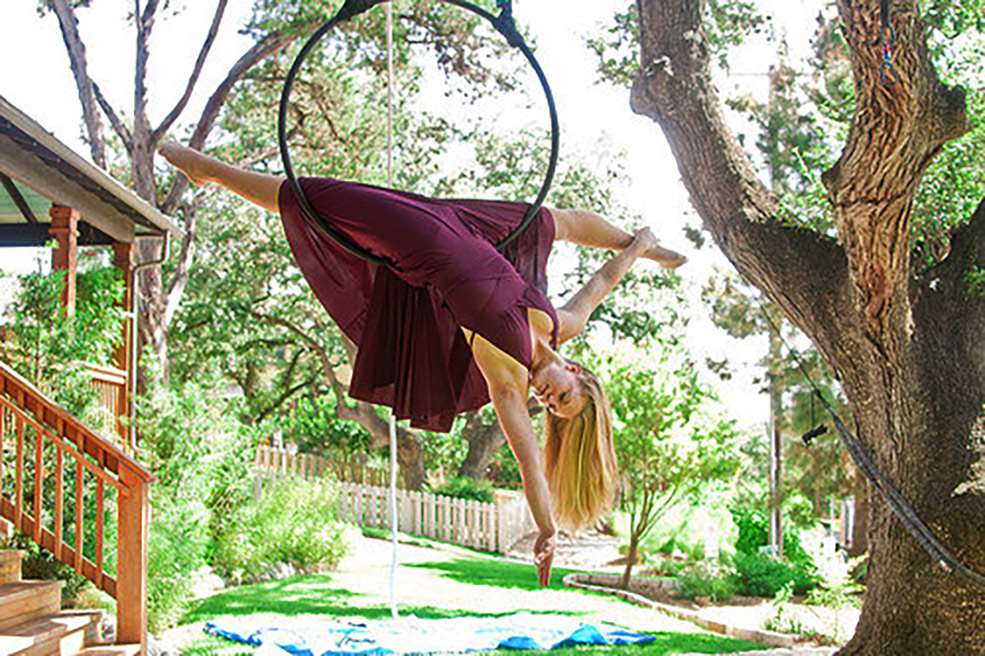Aerial Intensive Weekend Caitlyn Larsson