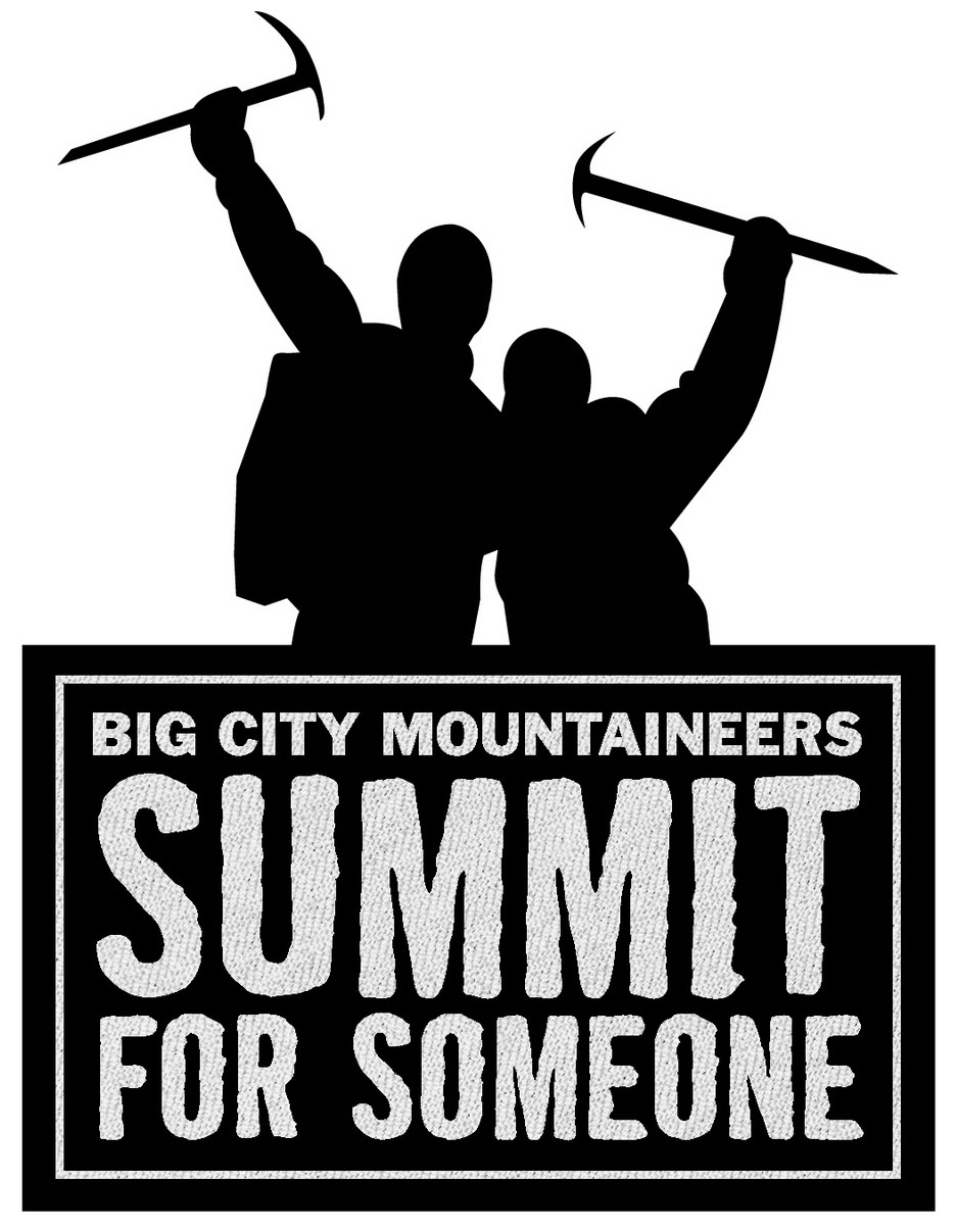 Big City Mountaineers Summit for Someone