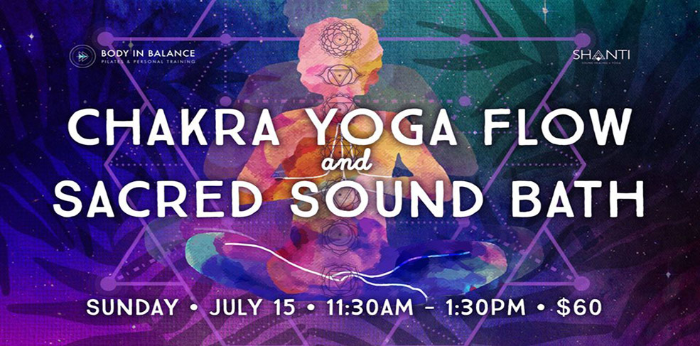 Chakra Yoga Flow and Sacred Sound Bath