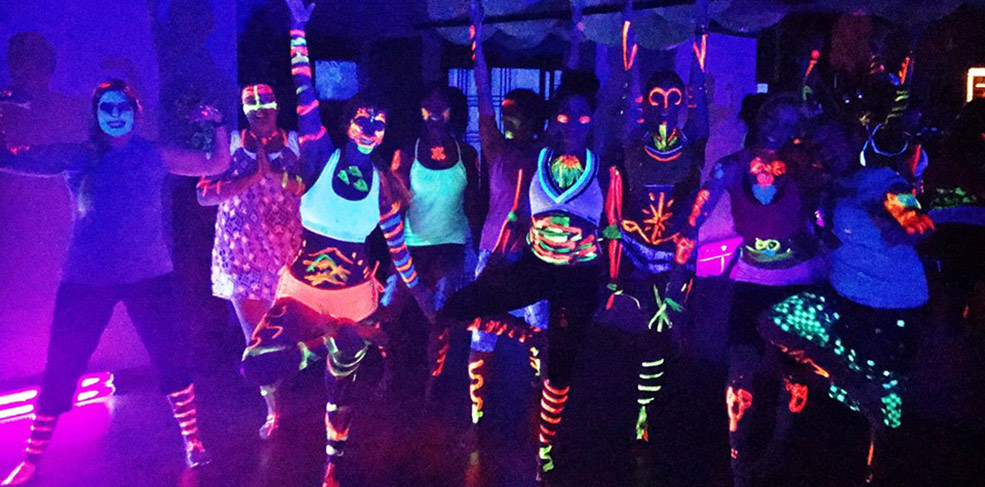 Black Light Body Paint Buti Yoga