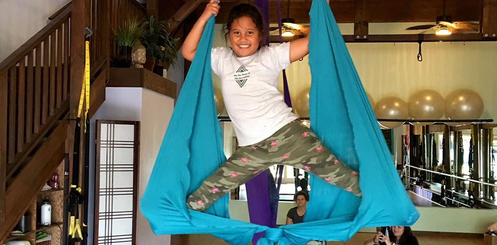 Keiki Aerial Silks Series (age 5-8)