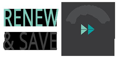 Renew & Save 15%