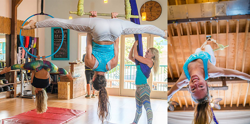 Beginning and Intermediate Aerial Lyra Workshop